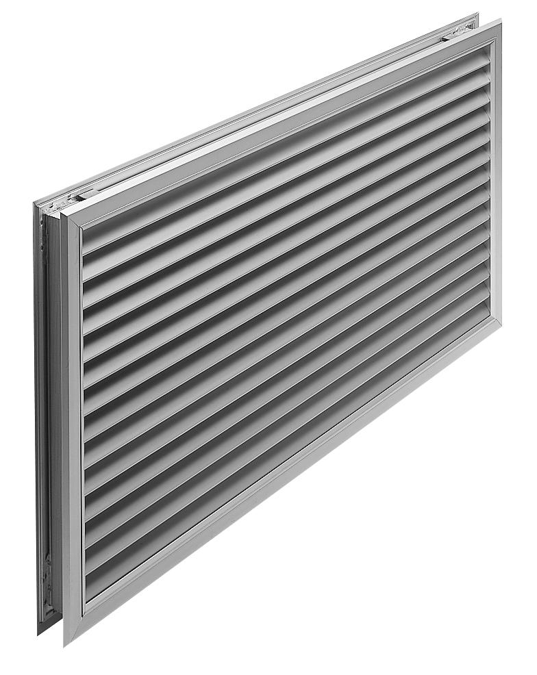 Aluminium Door Grille Bradflo