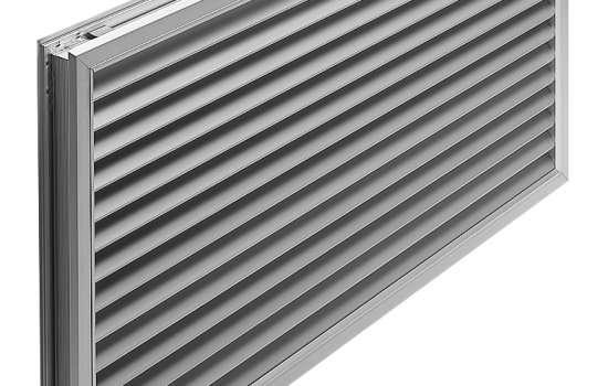 Aluminium Door Grille